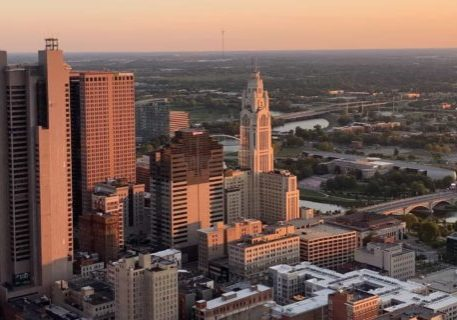 Cityscape of Columbus, OH